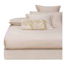 Howard Elliott - Sterling Sand Queen Boxspring Cover - The boxspring cover works as a fitted bed skirt. Textured sand cover provides the perfect base for your fits most standard size boxspring mattresses.