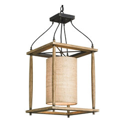 Currey and Company High Falls Lantern - If you love a lantern but aren't a fan of the exposed bulbs that go along with it, this fixture is a perfect choice. It would be a focal point in a family room — without the glare.