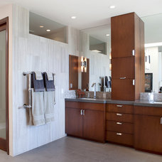 Contemporary Bathroom by Lauren Jacobsen Interior Design