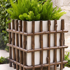 Traditional Outdoor Pots And Planters by Horchow