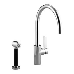 TARA ULTRA   Single-lever mixer with handspray set   Collection By Dornbracht - TARA ULTRA   FITTING AND APPLICATION IN PERFECT HARMONY.   Single-lever mixer with handspray set   Collection By Dornbracht   Available at www.shopstudio41.com