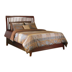 Modus Furniture - Modus Furniture City II Rake Storage Bed in Coco-Full - Modus Furniture - Beds - 1X50Y4
