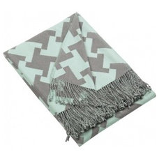 Modern Throws by Blissliving Home