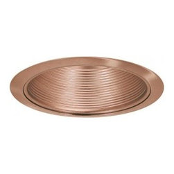 "Efficient Lighting Supply - 6"" Copper Baffle Recessed Trim - 3 Pack - Efficient Lighting Supply knows recessed lighting and has worked aggressively to brings its products to the marketplace at a price customers deserve. For BR30 / PAR30 and equivalent size compact fluorescent and LED bulbs, 75 Watt Max . Works with 6"" recessed cans brands such as Halo, Capri, Thomas, and Juno Lighting Fixtures."