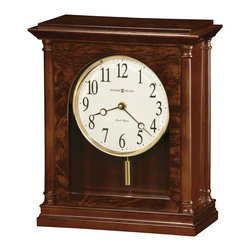 Howard Miller - Howard Miller Dual Chime Classic Mantel Clocks   CANDICE - 635131 CANDICE