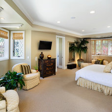 Traditional Bedroom by Markay Johnson Construction
