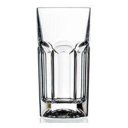Lorren Home Trend - Lorren Home Trends Provenza Highball Glasses (Set of 6) - Give your guests something cool to drink using this practical highball glass set from Lorren Home Trends. Featuring a classic, clean design, these glasses are durable enough for everyday use and beautiful enough for special occasions.