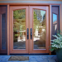 Doors - This custom cherry door was built the the clients specification. She was trying to match ...