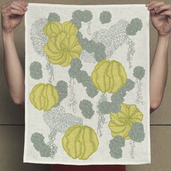 Makelike Succulent Tea Towel - The Succulent Tea Towel by Makelike comes from a true passion for pattern!