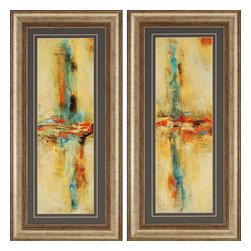 Paragon - Equilibrio PK/2 - Framed Art - Each product is custom made upon order so there might be small variations from the picture displayed. No two pieces are exactly alike.