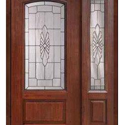 """Prehung Side light Door 80 Fiberglass Versailles Arch Lite Glass - SKU#MCR06602_DFAV1-1BrandGlassCraftDoor TypeExteriorManufacturer CollectionArch Lite Entry DoorsDoor ModelVersaillesDoor MaterialFiberglassWoodgrainVeneerPrice3545Door Size Options32"""" + 14""""[3'-10""""]  $032"""" + 12""""[3'-8""""]  $036"""" + 14""""[4'-2""""]  $036"""" + 12""""[4'-0""""]  $0Core TypeDoor StyleDoor Lite StyleArch LiteDoor Panel Style1 PanelHome Style MatchingDoor ConstructionPrehanging OptionsPrehungPrehung ConfigurationDoor with One SideliteDoor Thickness (Inches)1.75Glass Thickness (Inches)Glass TypeDouble GlazedGlass CamingSatin NickelGlass FeaturesTempered glassGlass StyleGlass TextureGlass ObscurityDoor FeaturesDoor ApprovalsEnergy Star , TCEQ , Wind-load Rated , AMD , NFRC-IG , IRC , NFRC-Safety GlassDoor FinishesDoor AccessoriesWeight (lbs)418Crating Size25"""" (w)x 108"""" (l)x 52"""" (h)Lead TimeSlab Doors: 7 Business DaysPrehung:14 Business DaysPrefinished, PreHung:21 Business DaysWarrantyFive (5) years limited warranty for the Fiberglass FinishThree (3) years limited warranty for MasterGrain Door Panel"""