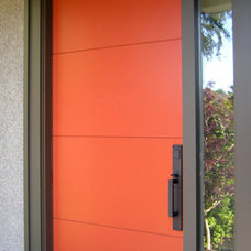 Contemporary Front Doors by Mountainview Designs