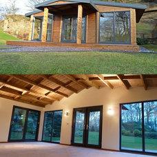 Contemporary Prefab Studios by bespoke cabins & summerhouses