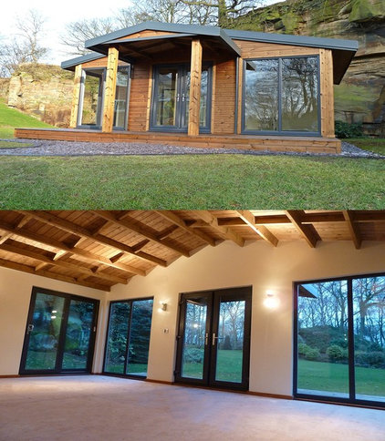 Contemporary Prefab Studios by bespoke cabins & summerhouses