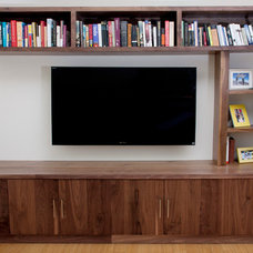 Modern Entertainment Centers And Tv Stands by KCS Design