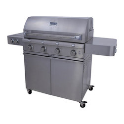 Frontgate Saber 4 Burner Stainless Steel Gas Grill With