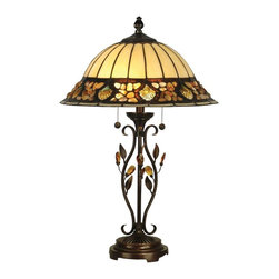 Dale Tiffany - New Dale Tiffany Pebblestone Table Lamp - Product Details