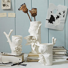 eclectic vases by West Elm