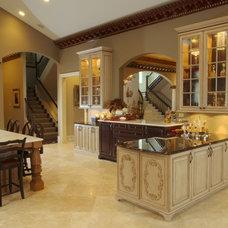 Mediterranean Kitchen by Nitti Development
