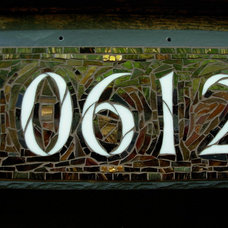 Traditional House Numbers by Nutmeg Designs