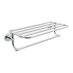 "Moen - Moen DN0794CH Iso 24"" Towel Shelf in Chrome - Moen DN0794CH Iso 24"" Towel Shelf in ChromeThe Iso Collection's telescoping machined-metal design infuses industrial elements into European minimalism as it boldly, and beautifully, embraces the future.Moen DN0794CH Iso 24"" Towel Shelf in Chrome, Features:"