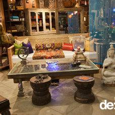 Eclectic Living Room by De-cor