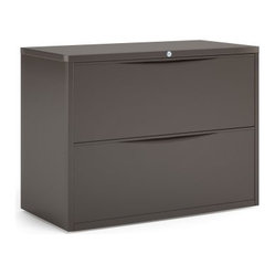 Mayline 2 Drawer 36 Inch Lateral File - If you think your small office is too tiny to host a ...
