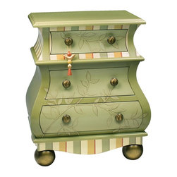 Sterling Lighting - Lark And Vine Accent Chest - Three drawers. Made from composite MDF. 24 in. W x 16 in. D x 29.5 in. H