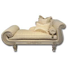 traditional day beds and chaises by Feathers Custom Furnishings