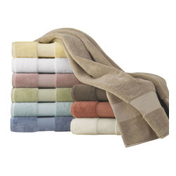 Luxor Linens - Mariabella Turkish Towels, 3-Piece, Desert Sand - This soft, plush European towels, made from the world's finest Long Staple Turkish cotton from Aegean region of Turkey. This cotton is known for its strength, absorbency, durability, and softness and will be luxurious addition to your bathing experience.
