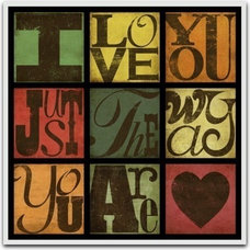 Billy Joel Music Lyric Art Print I Love You Just by suzannaanna