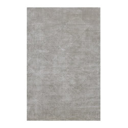 Surya - Luminous by Candice Olson from Surya Rugs LMN-3005 - Suryas Luminous Collection is the result of combining refined luxury, elegant design and urbane sensibility. In sleek shades of cool gray, pale blue and soft black, each rug is a masterful creation. Hand-knotted from the finest Semi-Worsted New Zealand Wool, each rug represents superior craftsmanship and premier style that will blend seamlessly with any transitional or contemporary setting.