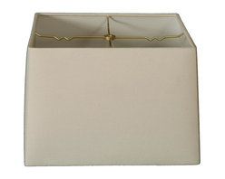 """""""Royal Designs, Inc"""" - Square Hard Back Lamp Shade - """"This Square Hardback Shade is a part of Royal Designs, Inc.�Timeless�Hardback Shade Collection�and is perfect for anyone who is looking for a simple yet stunning lampshade. Royal Designs has been in the lampshade business since 1993 with their multiple shade lines that exemplify handcrafted quality and value."""