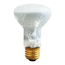 Bulbrite 50W Shatter Resistant Incandescent Reflector Light Bulb - 6 pk. - Replace your current bulbs with the Bulbrite 50W Shatter Resistant Incandescent Reflector Light Bulb - 6 pk. and enjoy all the benefits. The shatter-resistant design makes them less prone to breakage from thermal shock. Ideal for restaurants, catering halls, food preparation, display, and storage areas.About BulbriteBulbrite is a family-owned company started in 1971 and based in Moonachie, New Jersey. Bulbrite is renowned for their commitment to innovation, education, and service. They are a leading manufacturer and supplier of innovative, energy-efficient light source solutions. Bulbrite is an award-winning company. Most recently, their president, Cathy Choi, received the 2010 Residential Lighting Industry Leadership Award and the Bulbrite Swytch LED Desk Lamp received the 2010 Home Furnishing News Award of Excellence. They have introduced award-winning products and offer an extensive line of light bulbs including LEDs, HID, compact fluorescents, fluorescents, halogens, krypton/xenon, incandescent bulbs, and specialty lamps. Bulbrite is an active member of the ZHAGA, the American Lighting Association, a silver sustaining member of the Illuminating Engineering Society of North American (IESNA), an Energy Star Partner, a Lighting Facts LED Product Partner, a member of LUMEN Coalition, and a member of the International Dark Sky Association.