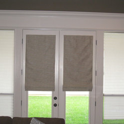 67 roman shades for french doors Products