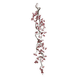 Silk Plants Direct - Silk Plants Direct Berry Garland (Pack of 4) - Pack of 4. Silk Plants Direct specializes in manufacturing, design and supply of the most life-like, premium quality artificial plants, trees, flowers, arrangements, topiaries and containers for home, office and commercial use. Our Berry Garland includes the following: