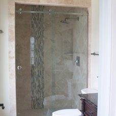 Contemporary Shower Doors by Showroom Partners