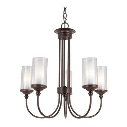 Trans Globe Lighting - Trans Globe Lighting 3925 Chandelier In Rubbed Oil Bronze - Part Number: 3925