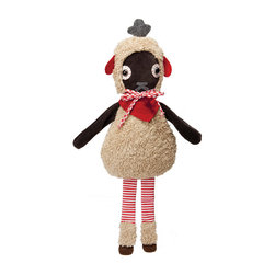 OOTS! - Blixem Sheep Stuffed Toy - Bah, bah black sheep never looked so cute and cuddly. Treat your little one with a soft lovey that will be sure to last a lifetime. It's even washable so you might be sending Junior off to college with this little guy.