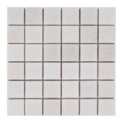 Crystal White Marble Mosaic -