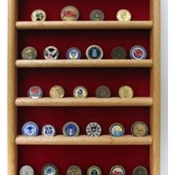 Wall Coin Display, Challenge coin wall display - Wall Coin Display, Challenge coin wall display