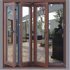 Contemporary Front Doors by New Era Building Materials Co., Ltd.
