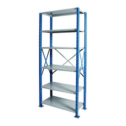 Hallowell - H-Post High Capacity Open Starter Unit w 6 Shelves (48 W x 18 D x 123 H (200.2 l - Size: 48 W x 18 D x 123 H (200.2 lbs.). Adjustable shelves. Side and back sway braces. Standard foot plate for strong and rigid anchor point. GREENGUARD Children and School certified. Warranty: One year. Made from rolled steel. Platinum and marine blue color. Made in USA. Assembly required. Shelving with 900 lb. shelf capacity:. 48 in. W x 18 in. D x 87 in. H (172.08 lbs.). 48 in. W x 18 in. D x 123 in. H (200.2 lbs.). 48 in. W x 24 in. D x 87 in. H (198.08 lbs.). 48 in. W x 24 in. D x 123 in. H (226.4 lbs.). Shelving with 1200 lb. shelf capacity:. 36 in. W x 18 in. D x 87 in. H (146.1 lbs.). 36 in. W x 18 in. D x 123 in. H (173.7 lbs.). Shelving with 1250 lb. shelf capacity:. 36 in. W x 24 in. D x 87 in. H (166.7 lbs.). 36 in. W x 24 in. D x 123 in. H (194.5 lbs.)Hallowell high capacity H-post shelving is ideal when additional post strength is required and is recommended for multi-level high-rise applications.