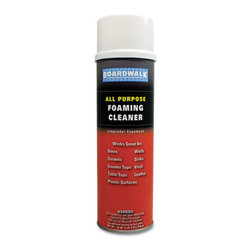 Boardwalk - Boardwalk All-Purpose Foaming Cleaner with Ammonia, 19Oz Aerosol - Nonabrasive, fast-acting foam cleans dirt, grime and fingerprints from nonporous surfaces.
