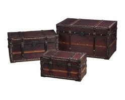 Joshua Marshal - Traveller'S Steam Trunks Storage Chests - Traveller'S Steam Trunks Storage Chests