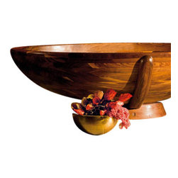 WS Bath Collections - Madera M5 Free Standing Wood Bathtub - Madera Free Standing High-End Wood Bathtub by Wes Bath Collections