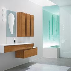 Modern Vanity Tops And Side Splashes Modern Bathroom Countertops