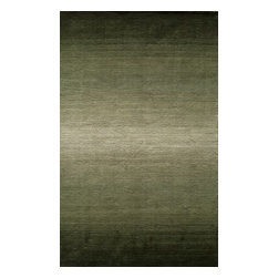 "Momeni - Momeni Metro Mt12 Forest Green Rug 9'-6"" X 13'-6"" - Metro features clean lines and geometric shapes for a distinctive contemporary look. Fresh and appealing, it is hand-loomed in India of 100% wool."