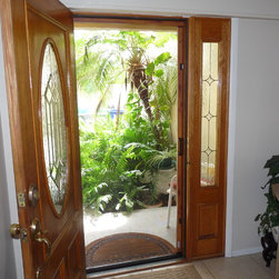 Phantom Retractable Screen Doors - Phantom retractable screen doors operate silently and smoothly and retract into a discreet housing to provide an open view, easy entry and longer screen life. When in use, the screen is almost invisible to the eye and offers excellent airflow while providing an insect and solar barrier.