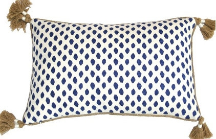pillows #12 Sahara Midnight Pillow: Beach Decor, Coastal Home Decor, Nautical Decor, Tro